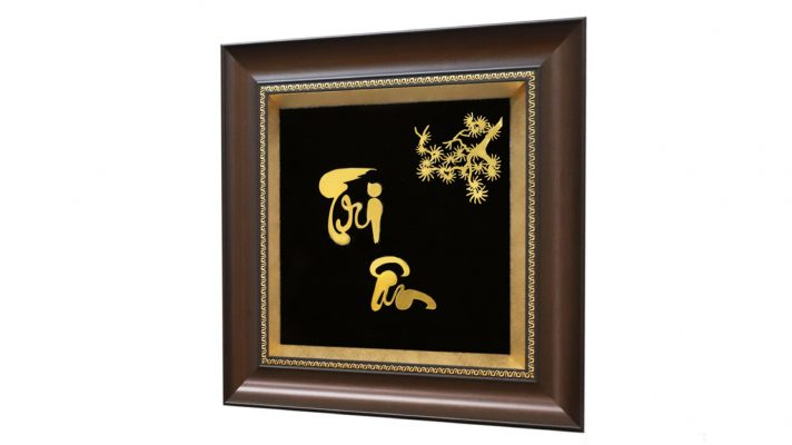 Tranh Tri Ân mạ vàng - món quà ý nghĩa thay lời cảm ơn
